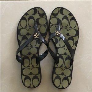 dc26b04dabfa Coach Shoes - NWOT Coach Flip Flops